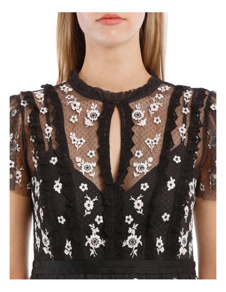 Monochrome Ditsy Dress image 4