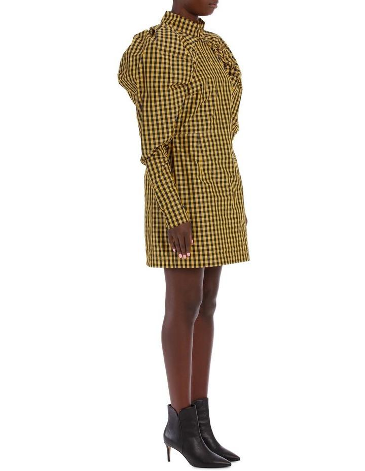 Puff Sleeve Mini Dress image 2