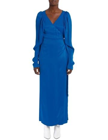 f8f09a818ff1 ROTATE By Birger ChristensenLong Sleeve Midi Wrap Dress. ROTATE By Birger  Christensen Long Sleeve Midi Wrap Dress