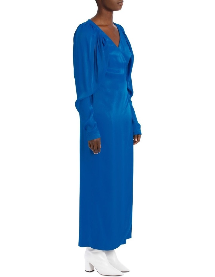 Long Sleeve Midi Wrap Dress image 2