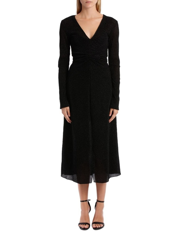 Long Sleeve Midi Dress image 1