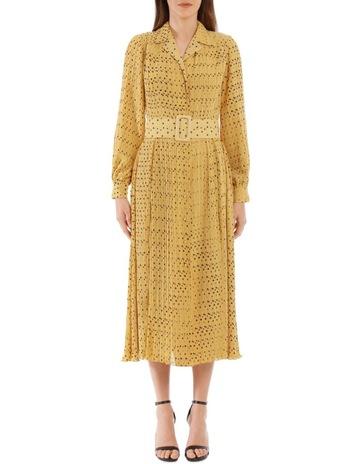 5804af1f30d4 ROTATE By Birger ChristensenSpotted Ochre Dress. ROTATE By Birger  Christensen Spotted Ochre Dress