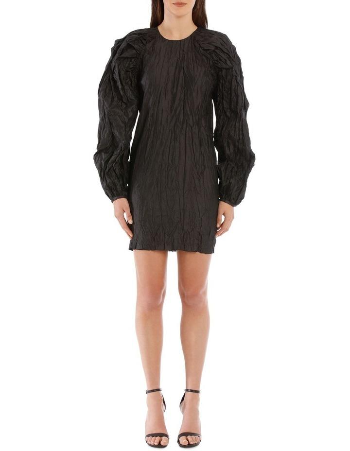 Ruched Sleeve Mini Dress image 1