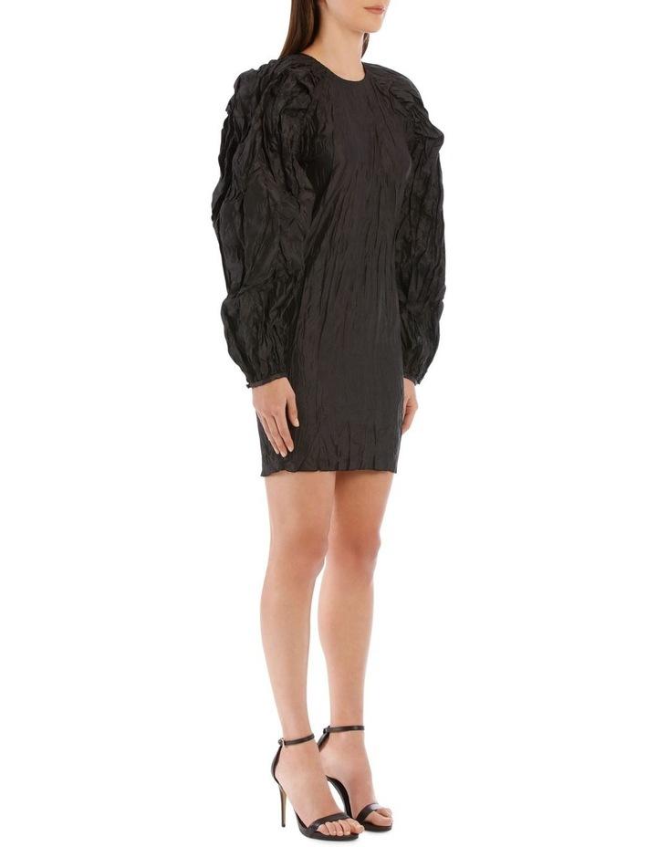 Ruched Sleeve Mini Dress image 2