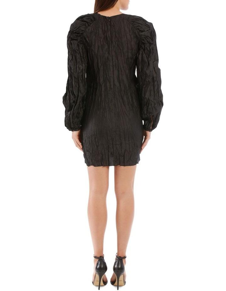 Ruched Sleeve Mini Dress image 3
