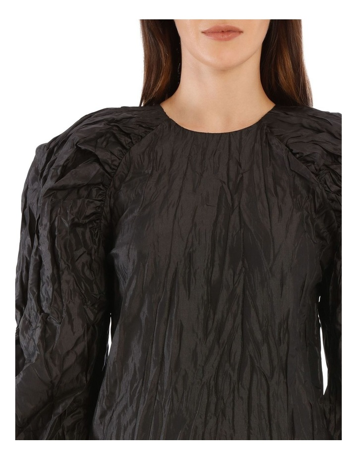 Ruched Sleeve Mini Dress image 4