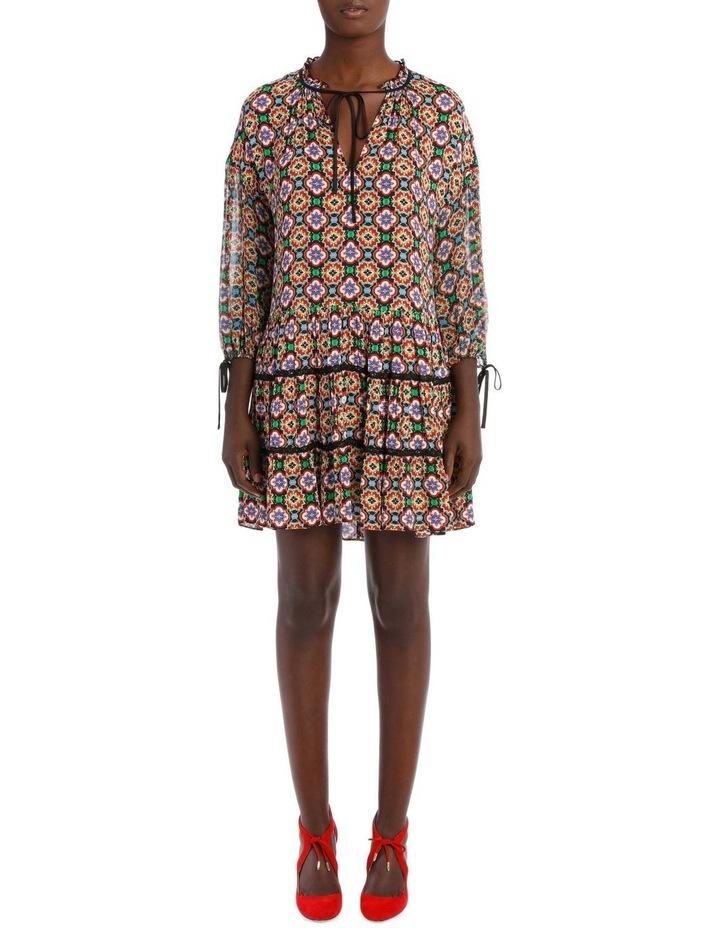 Arnette Tiered Tunic Dress image 1