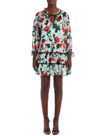 b6ed4c9cc54 Alice Olivia Arnette Tiered Tunic Dress