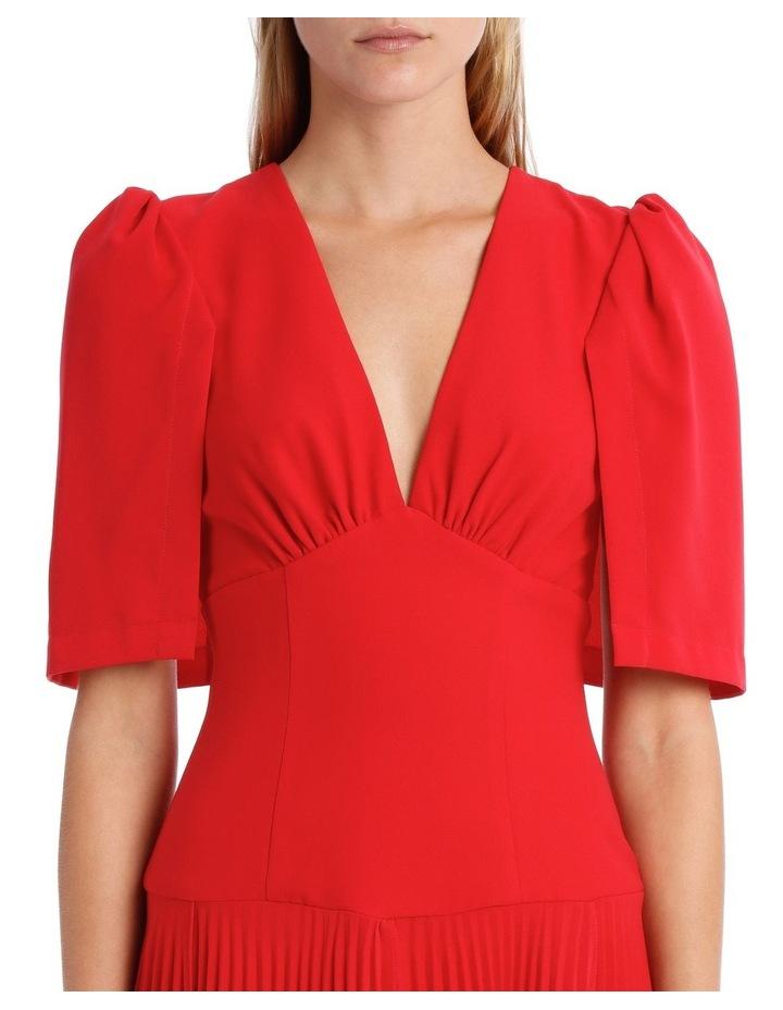 Short Sleeve Asymmetric Hem Dress image 4