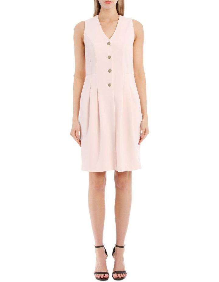 Sleeveless Pale Pink Dress image 1
