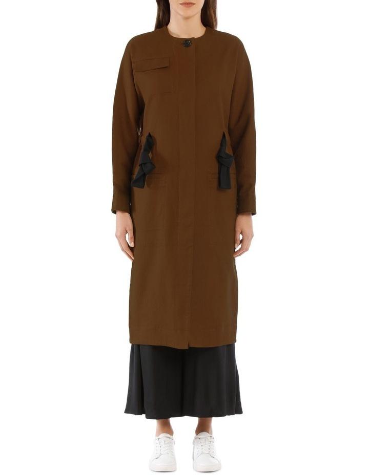Ayana Tie-Belt Coat image 1