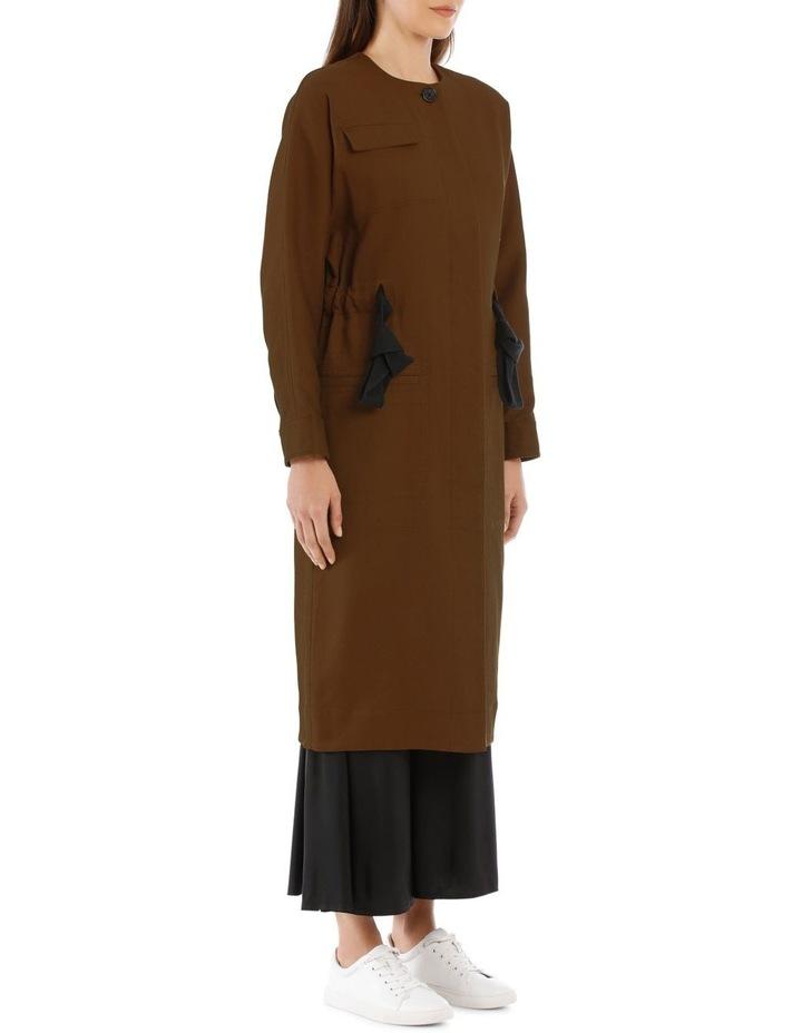 Ayana Tie-Belt Coat image 2