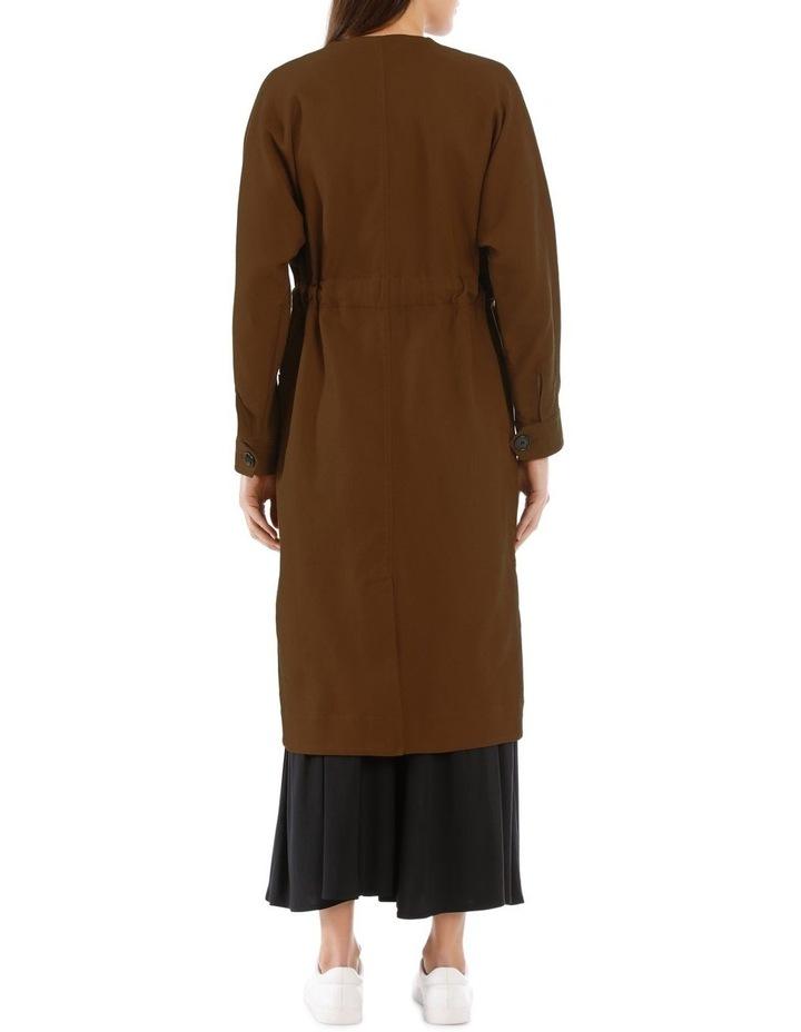 Ayana Tie-Belt Coat image 3
