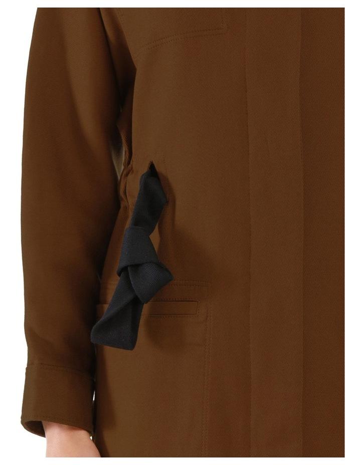 Ayana Tie-Belt Coat image 4