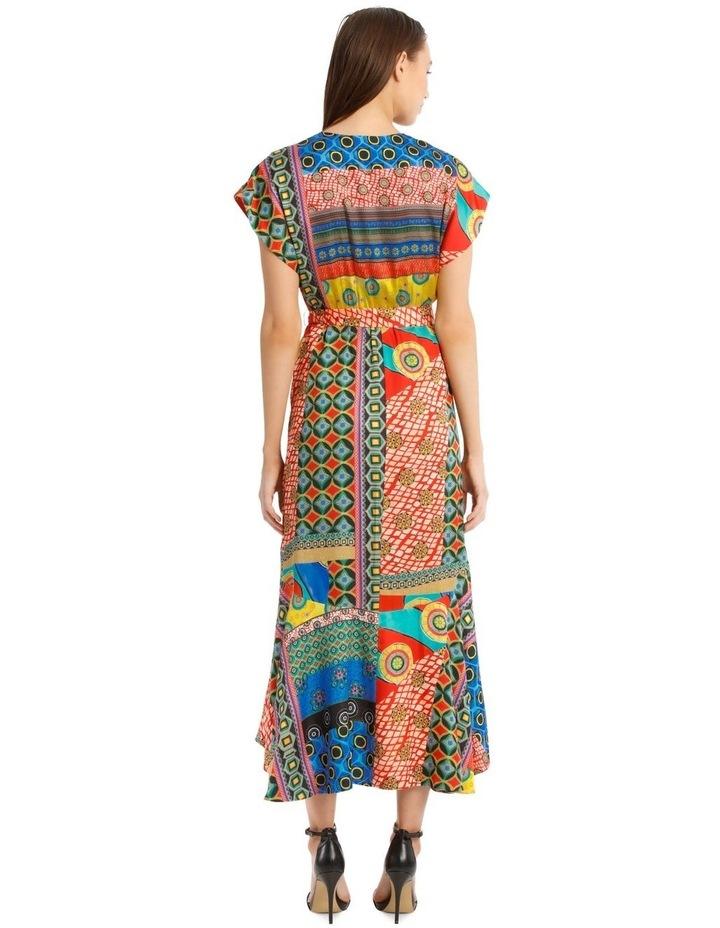 Midi Patchwork Dress image 3