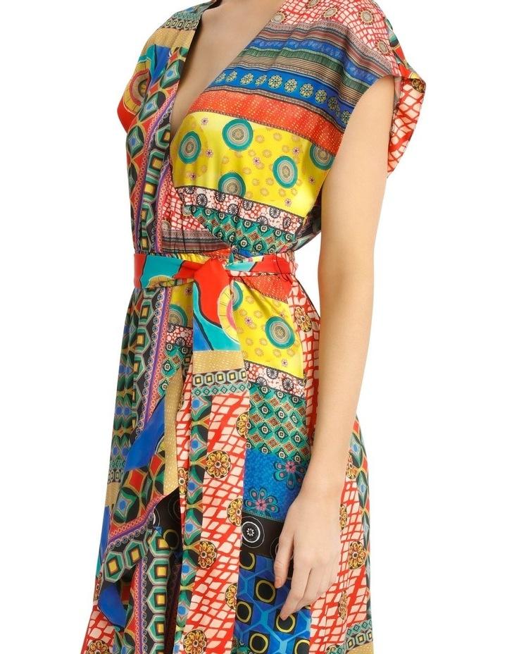 Midi Patchwork Dress image 4