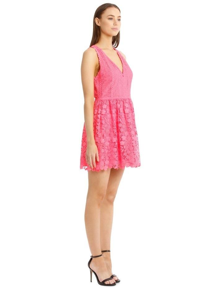 Hot Pink Lace Dress image 2