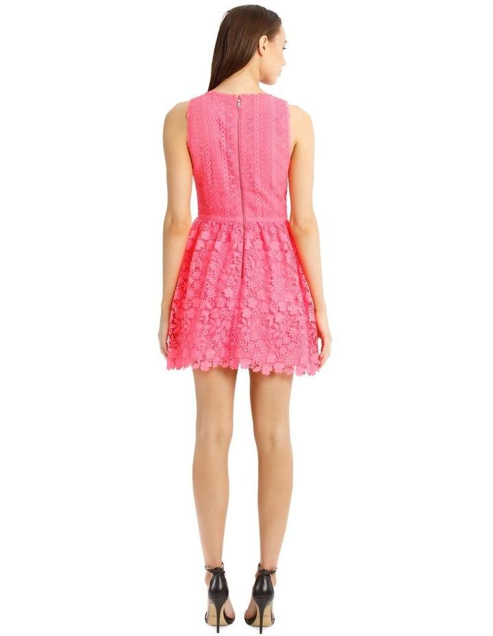 Hot Pink Lace Dress image 3