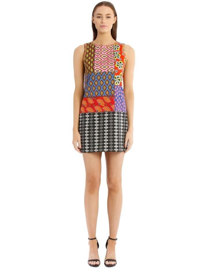 Carla Sleeveless Patchwork Dress image 1