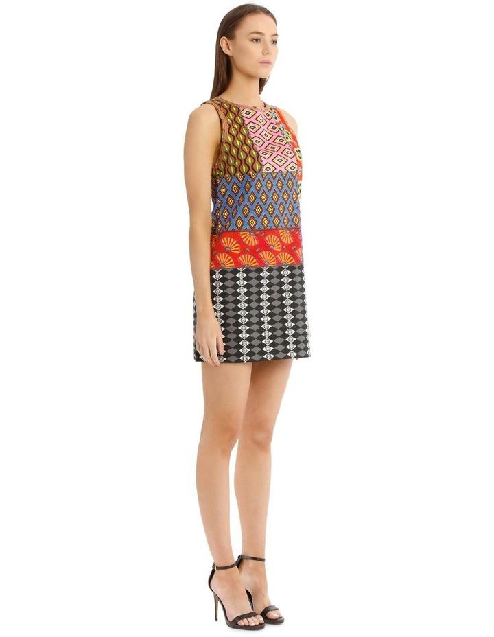Carla Sleeveless Patchwork Dress image 2