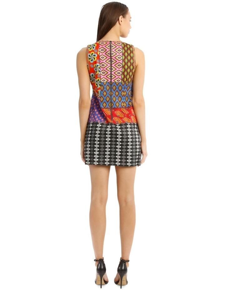 Carla Sleeveless Patchwork Dress image 3