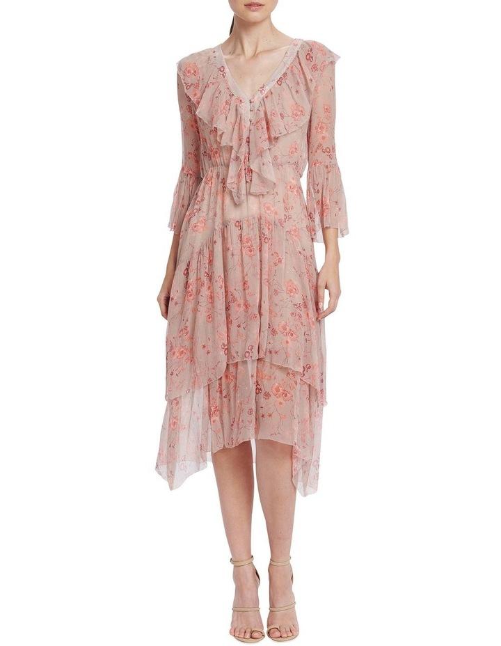 Lorelai Flounce Midi Dress image 1