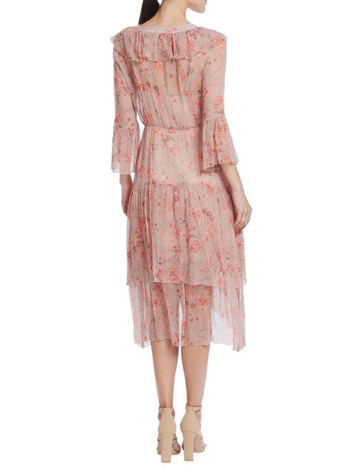 Lorelai Flounce Midi Dress image 2