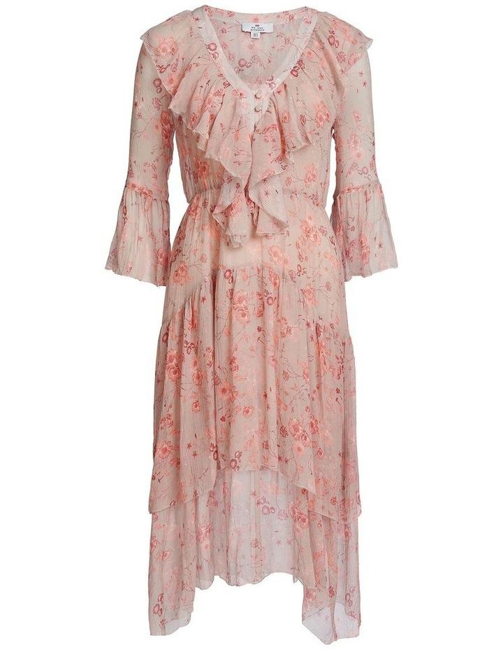 Lorelai Flounce Midi Dress image 4