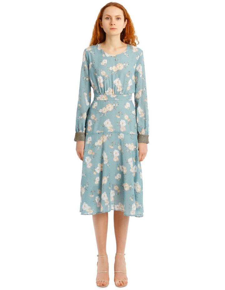 Teal Posey Dress image 1