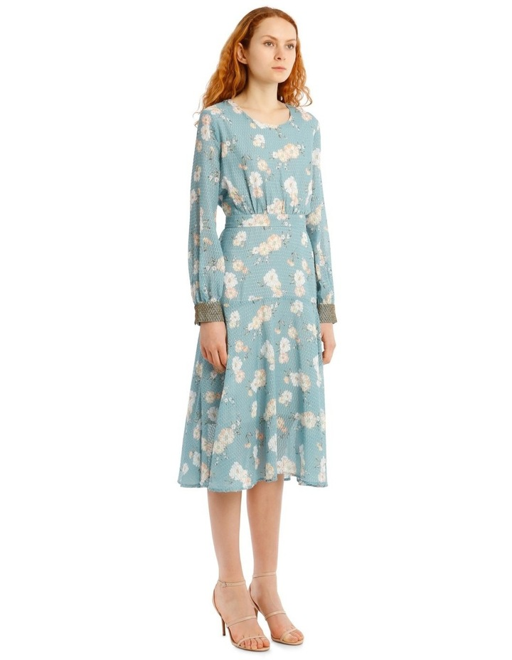 Teal Posey Dress image 2