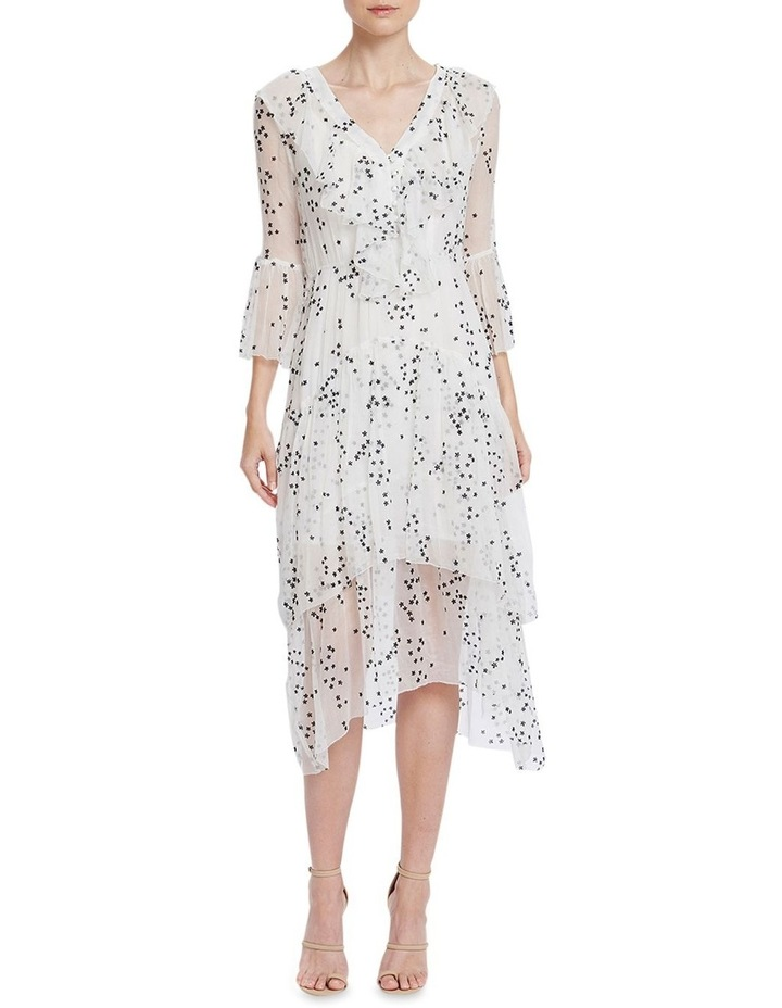 Elle Flounce Midi Dress image 1