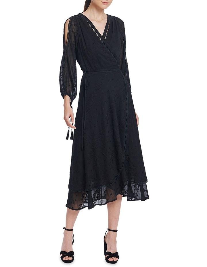 Coco Split Sleeve Midi Dress image 1
