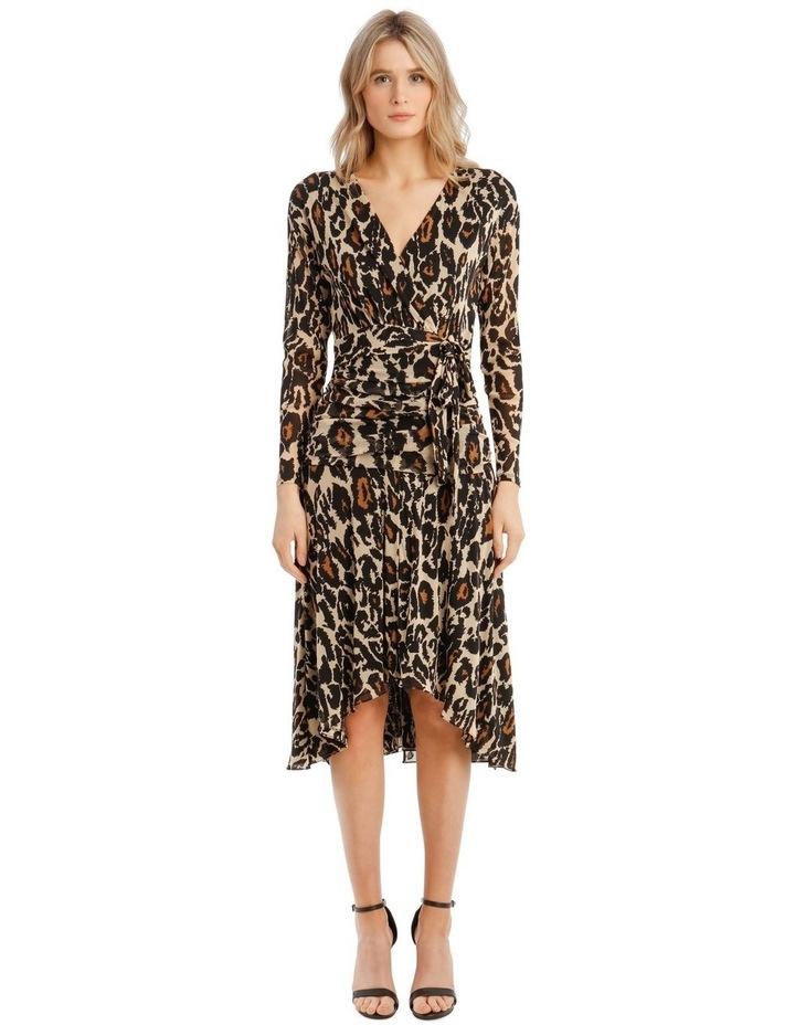 Rilynn Wrap Midi Dress image 1