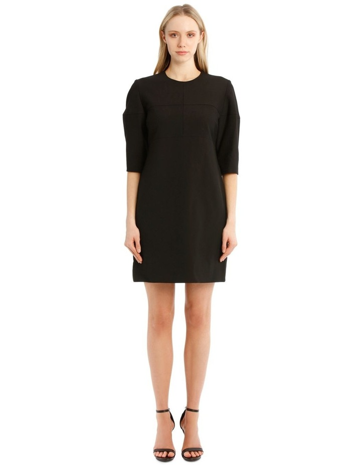 Structured Sleeve Mini Dress image 1