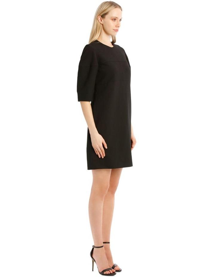 Structured Sleeve Mini Dress image 2