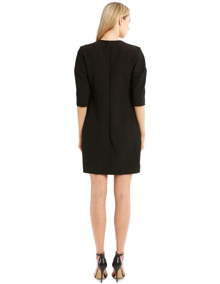 Structured Sleeve Mini Dress image 3