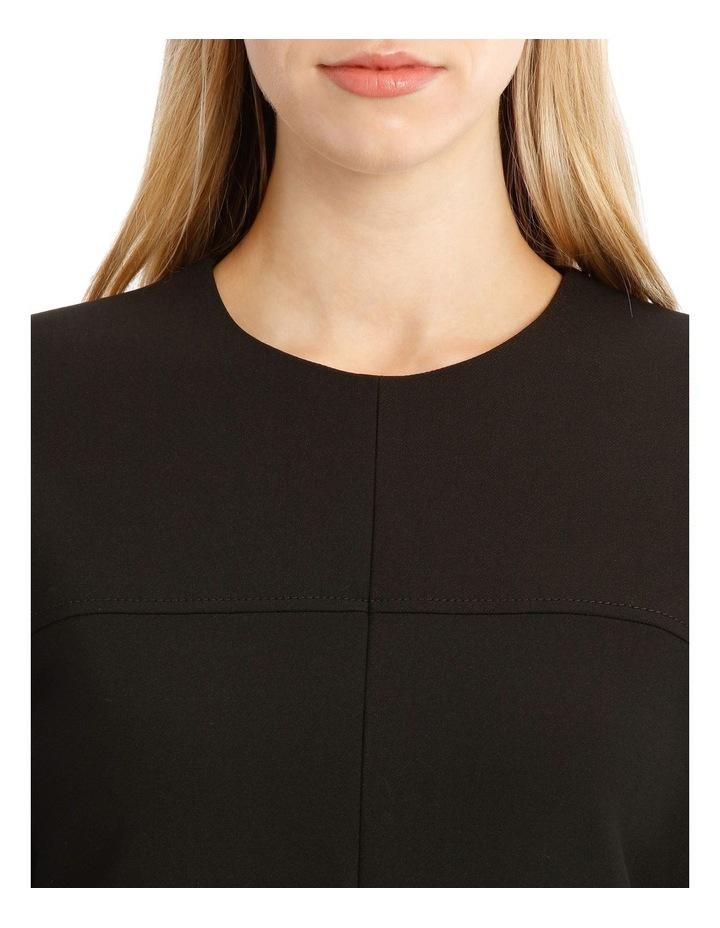 Structured Sleeve Mini Dress image 4