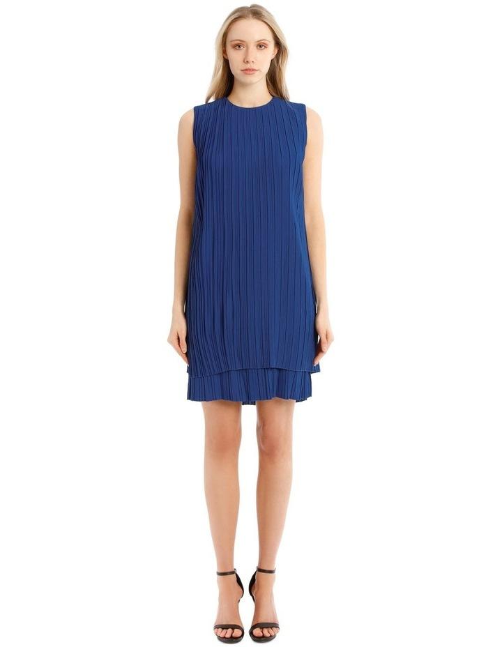 Pleated Sleeveless Dress image 1