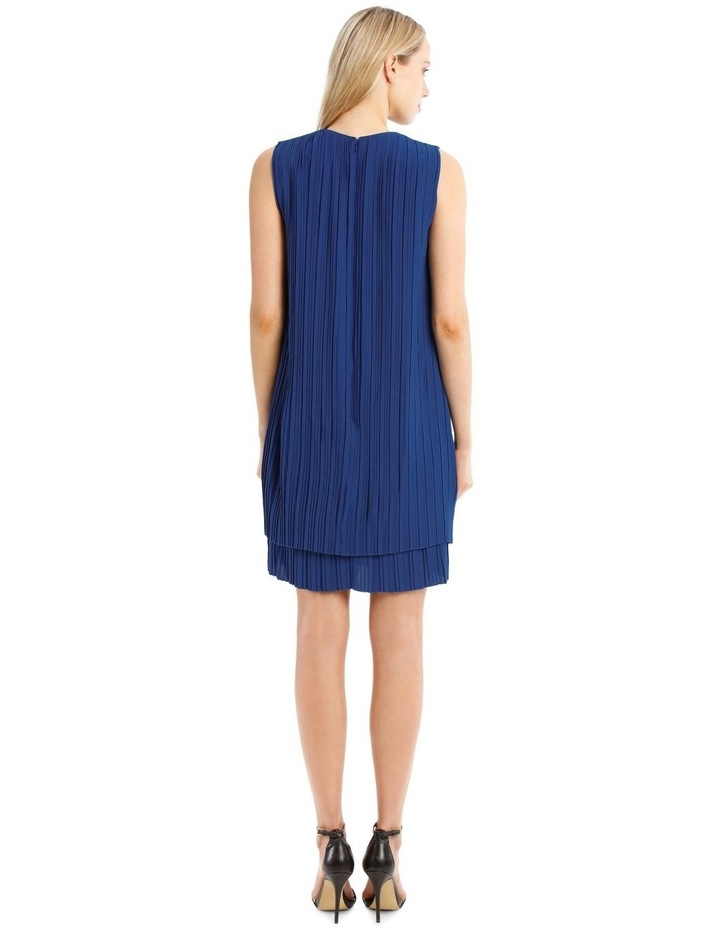 Pleated Sleeveless Dress image 3