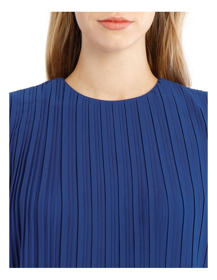 Pleated Sleeveless Dress image 4
