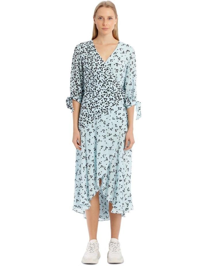 Freesia Dress - Blue/Black image 1