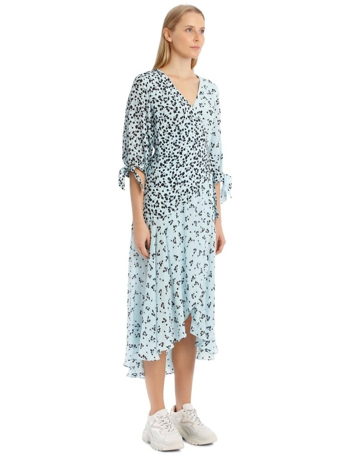 Freesia Dress - Blue/Black image 2