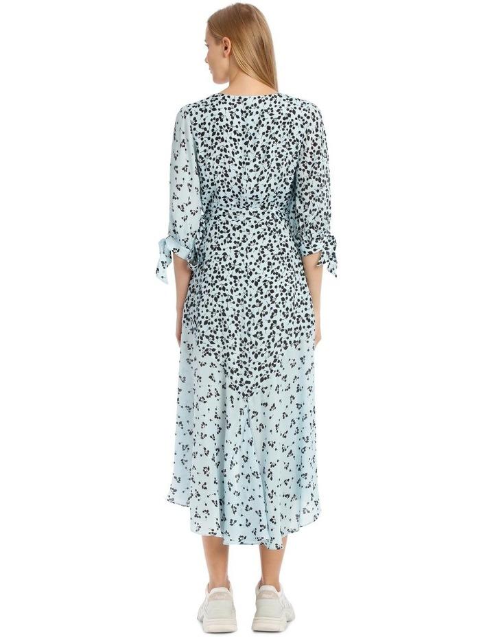Freesia Dress - Blue/Black image 3
