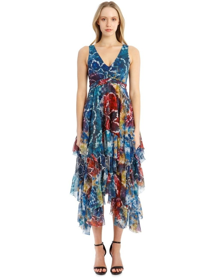 Tie-Dye Kaleidoscope Dress image 1
