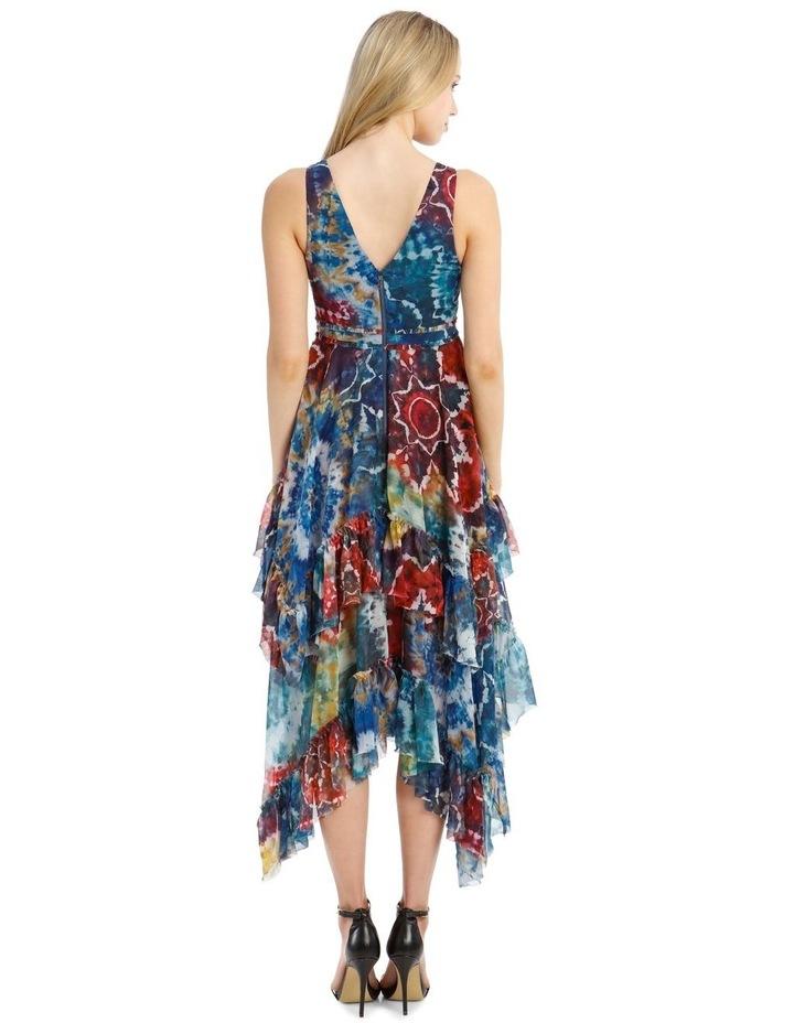 Tie-Dye Kaleidoscope Dress image 3