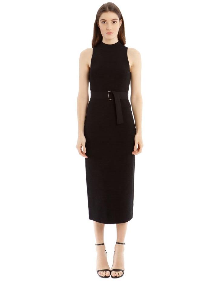 Black High Neck Dress image 1