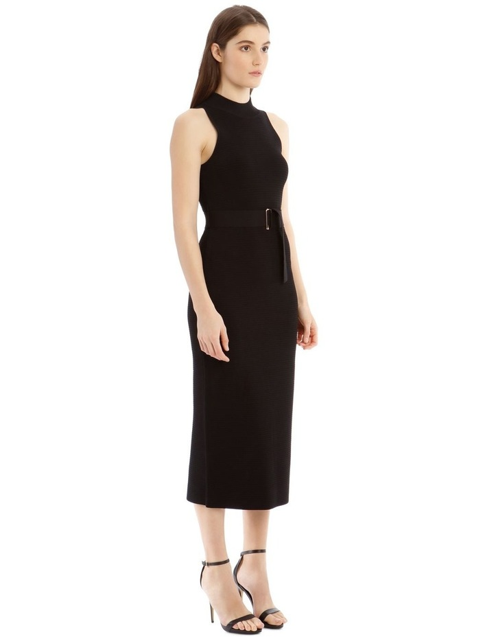 Black High Neck Dress image 2