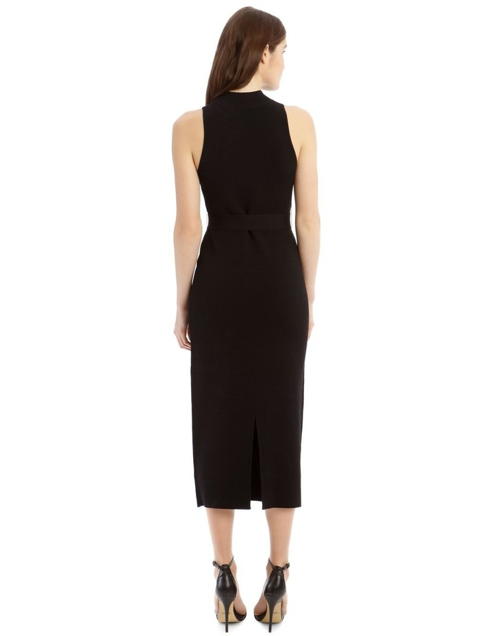 Black High Neck Dress image 3