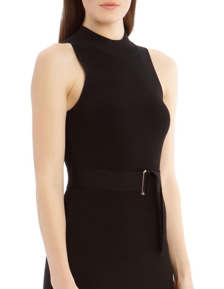 Black High Neck Dress image 4