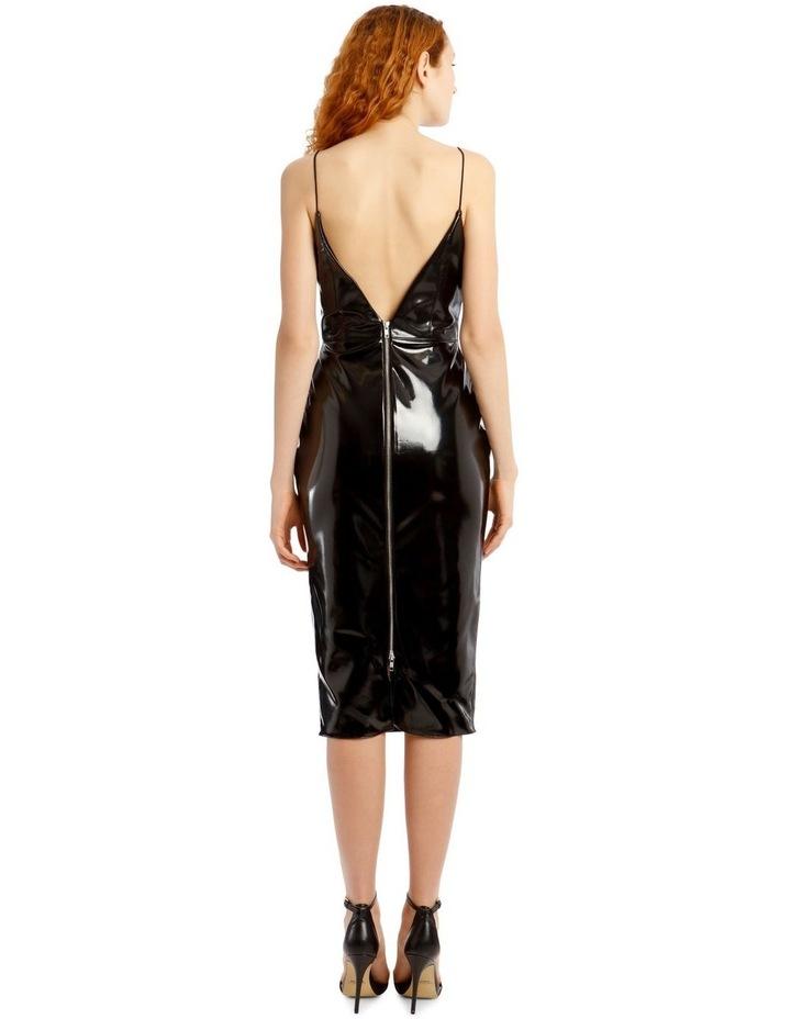Hunter-Vinyl Sleeveless Midi Dress image 3